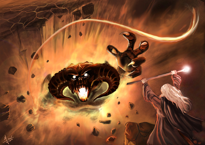 Fighting the Balrog